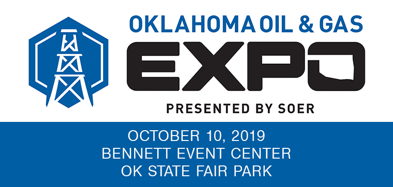 Oklahoma Oil & Gas Expo  October 10, 2019 banner