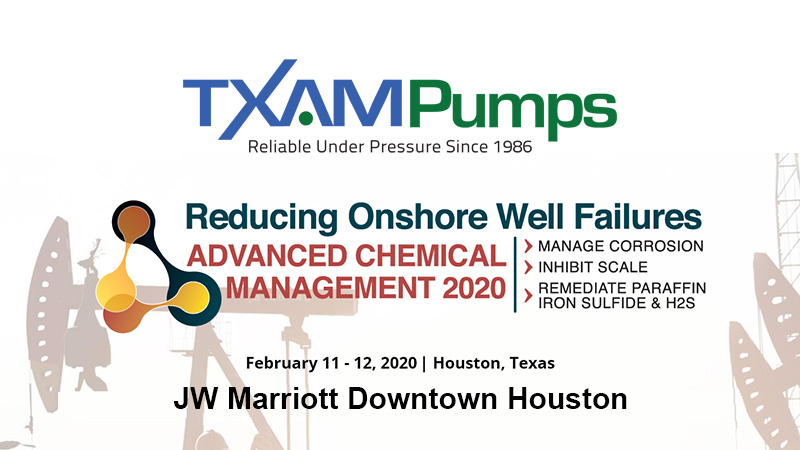 Reducing Onshore Well Failures - Advanced Chemical Management 2020 Conference Banner